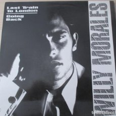 Discos de vinilo: WILLY MORALES - LAST TRAIN TO LONDON / GOING BACK - MAXI BLANCO Y NEGRO 1992 (GARAGE HOUSE). Lote 133697370