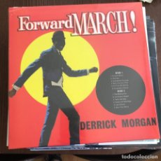 Discos de vinilo: DERRICK MORGAN - FORWARD MARCH! (1962) - LP REEDICIÓN DYNAMITE 2014 NUEVO. Lote 133697878