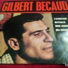 Discos de vinilo: GILBERT BECAUD. Lote 133698098