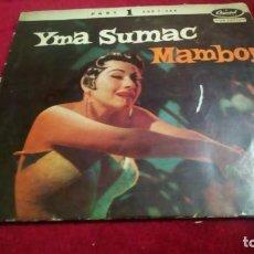 Discos de vinilo: MAMBO!. Lote 133698994