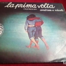 Discos de vinilo: LA PRIMA VOLTA. Lote 133699826