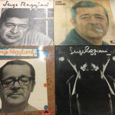 Discos de vinilo: SERGE REGGIANI LOTE 4 LP. Lote 133701513