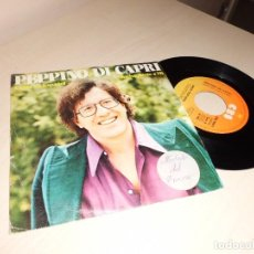 Discos de vinilo: PEPPINO DI CAPRI -CANTA EN ESPAÑOL --VUELVE JUNTO A MI - AÑOR PROFUNDO -CBS- MADRID 1978 . Lote 156783126