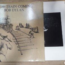 Discos de vinilo: SLOW TRAIN COMING BOB DYLAN. Lote 133703633