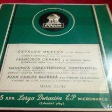 Discos de vinilo: ODEON. Lote 133704502