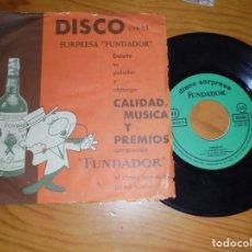 Discos de vinilo: SARDANAS. COBLA MONTSENY. EP. DISCO SORPRESA FUNDADOR. 1962. Lote 133706722