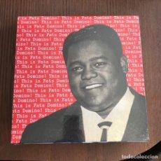 Discos de vinilo: FATS DOMINO - THIS IS FATS DOMINO (1956) - LP REEDICIÓN RUMBLE 2012 NUEVO . Lote 133707382