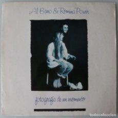 Discos de vinilo: AL BANO & ROMINA POWER - FOTOGRAFIA DE UN MOMENTO (LP WEA 1990). Lote 133709846