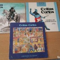 Discos de vinilo: 3 LPS CELTAS CORTOS . Lote 133716478
