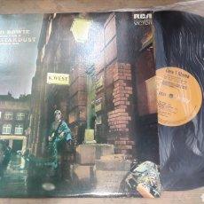 Discos de vinilo: BOWIE STARDUST 1982. Lote 133718066