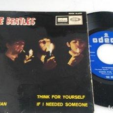 Discos de vinilo: ANTIGUO DISCO DE THE BEATLES THINK FOR YOURSELF. Lote 133724026