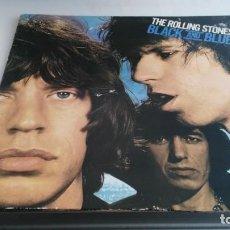 Discos de vinilo: ANTIGUO DISCO DE THE ROLLING STONES BLACK AND BLUE. Lote 133724362