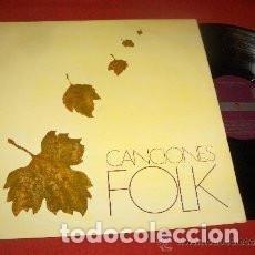 Discos de vinilo: LP CANCIONES FOLK ( XESCO BOIX, PAI I JORDI ( PAU RIBA ), ALBERT BATISTE, ELS SAPASTRES, FALSTERBO 3. Lote 133728690