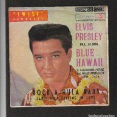 Discos de vinilo: ELVIS PRESLEY: DISCO ESPAÑOL DE 1961-MUY BUEN ESTADO -RECOMENDADO. Lote 133729606
