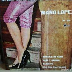 Discos de vinil: MAÑO LOPEZ Y SU ORQUESTA EP 1960 LATIN. Lote 133730454