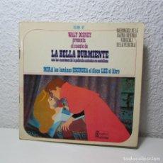 Discos de vinilo: SINGLE VINILO LA BELLA DURMIENTE CANCIONES EN CASTELLANO MIRA ESCUCHA LEE WALT DISNEY 1968. Lote 133731958