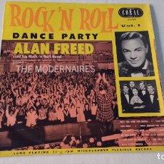 Discos de vinilo: ALBUM DEL FAMOSO DISC JOCKEY Y PRESENTADOR NORTEAMERICANO ALAN FREED . Lote 133732958