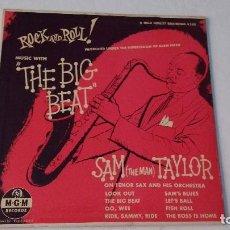 Discos de vinilo: ALBUM DEL SAXOFONISTA NORTEAMERICANO DE JAZZ ,RHYTHM & BLUES Y ROCK AND ROLL SAM (THE MAN) TAYLOR . Lote 133734182