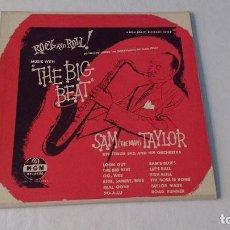 Discos de vinilo: ALBUM DEL SAXOFONISTA NORTEAMERICANO DE JAZZ ,RHYTHM & BLUES Y ROCK AND ROLL SAM (THE MAN) TAYLOR . Lote 133734490