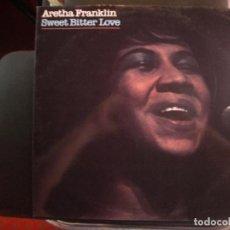Discos de vinilo: ARETHA FRANKLIN- SWEET BITTER LOVE. LP.. Lote 133734822