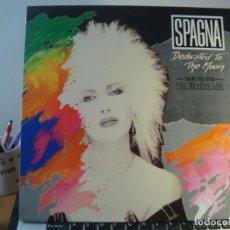 Discos de vinilo: RAR LP 33. SPAGNA. DEDICATED TO THE MOON. MADE IN SPAIN. ITALO DISCO. Lote 133734934