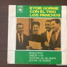 Discos de vinilo: EYDIE GORME CON EL TRIO LOS PANCHOS – NOSOTROS SELLO: CBS – EP 6309, CBS – EP.6309 FORMATO: VINY. Lote 133735214