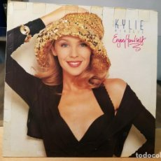 Discos de vinilo: KYLIE MINOGUE ENJOY YOURSELF LP VINILO UK 1989 PWL RECORDS HF 9 . Lote 133738506