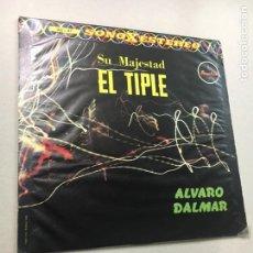 Discos de vinilo: SU MAJESTAD EL TIPLE (ALVARO DALMAR). Lote 133739343