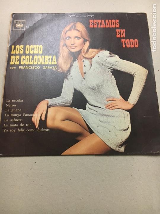 LOS OCHO DE COLOMBIA CON FRANCISCO ZAPATA (Música - Discos - LP Vinilo - Grupos y Solistas de latinoamérica)