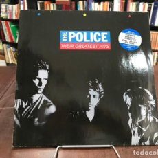 Discos de vinilo: THEIR GREATEST HITS. THE POLICE. LP 1990. Lote 133741374