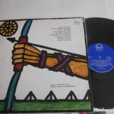 Discos de vinilo: COROS Y ORQUESTA DE LA CADENA AZUL DE RADIODIFUSION - LP CANCIONERO DE LA JUVENTUD-1963. Lote 133741866