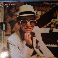 Discos de vinilo: ELTON JOHN / GREATEST HITS. Lote 133742375