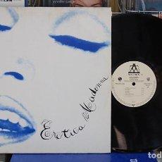 Discos de vinilo: MADONNA. EROTICA. SIRE RECORDS 1992, REF. 9362-45031-1. LP DOBLE. Lote 133743494