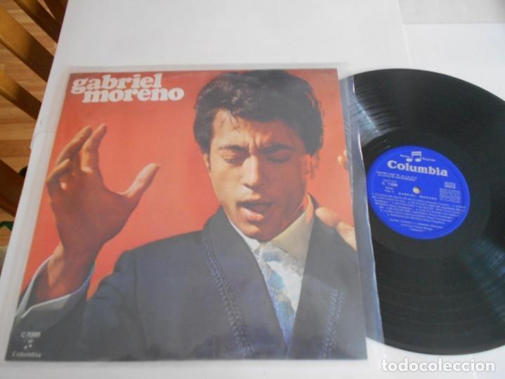 GABRIEL MORENO-LP 1970 (Música - Discos - LP Vinilo - Flamenco, Canción española y Cuplé)