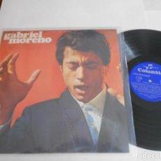 Discos de vinilo: GABRIEL MORENO-LP 1970. Lote 133747758