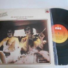 Discos de vinilo: GIANNI BELLA - LP DE AMOR YA NO SE MUERE-ESPAÑOL-NUEVO. Lote 133748686