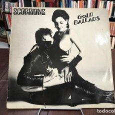 Discos de vinilo: GOLD BALLADS. SCORPIONS LP 1984. Lote 133748830