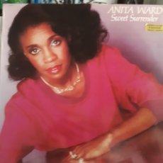 Discos de vinilo: ANITA WARD-SWEET SURRENDER. Lote 133749581