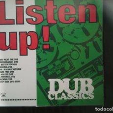 Discos de vinilo: VARIOS-LISTEN UP! DUB CLASSICS. Lote 133752782