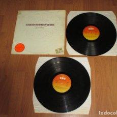 Discos de vinilo: EARTH WIND & FIRE - GRATITUDE - SPAIN - CBS - CARPETA GATEFOLD - 2 LP,S - IBL - . Lote 133754118