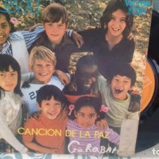 Discos de vinilo: SINGLE (VINILO) DE GARABATOS AÑOS 70. Lote 133754506