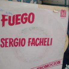 Discos de vinilo: SINGLE (VINILO)-PROMOCION- DE SERGIO FACHELI AÑOS 80. Lote 133755318