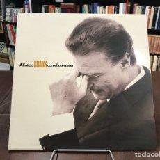 Discos de vinilo: CON EL CORAZÓN. ALFREDO KRAUS LP 1991. Lote 133755322