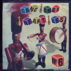Discos de vinilo: CANCIONES INFANTILES Nº6. COLUMBIA 1964. Lote 133755690