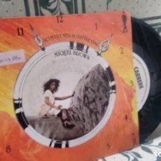 Discos de vinilo: SINGLE (VINILO)-PROMOCION- DE MIQUEL BROWN AÑOS 80. Lote 133756062