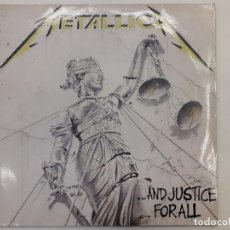 Discos de vinilo: DISCO DOBLE VINILO METALLICA AND JUSTICE FOR ALL. 1988. Lote 133756450