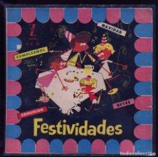 Discos de vinilo: FESTIVIDADES. CANCIONES Y RELATOS INFANTILES. ZAFIRO. CONSERVADO . Lote 133757238