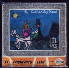 Discos de vinilo: EL COCHERITO LERE. SINTONIA 1968. EP RARO. SECCION FEMENINA FET Y LAS JONS. Lote 133757446