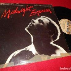 Discos de vinilo: MIDNIGHT EXPRESS BSO OST GIORGIO MORODER LP 1978 CASABLANCA EDICION INGLESA ENGLAND. Lote 133761278