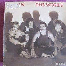 Discos de vinilo: LP - QUEEN - THE WORKS (SPAIN, EMI 1984, CONTIENE ENCARTE). Lote 133761326